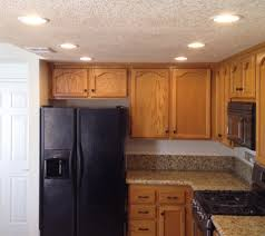 image of attractive kitchen recessed lighting ideas