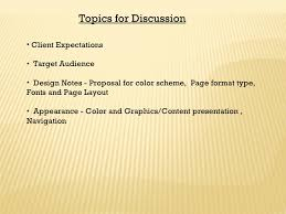 web design presentation creative vision topics