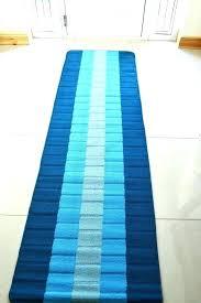 blue runner rug teal carpet heavy duty foot grey and white waterproof uk blue runner rug