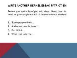 patriotism essay ideas  patriotism essay ideas