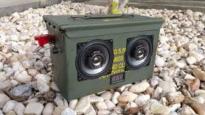 ammocan boombox 50 cal diy build pics and wiring diagram inside diy build pics and wiring diagram inside