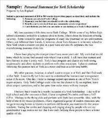Personal Statements Templates 4 Free Personal Statement Templates Word Excel Sheet Pdf
