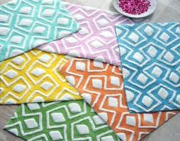 cotton bath rugs with latex backing p