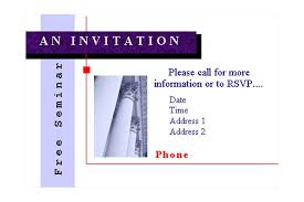 seminar invitation seminar invitations templates kays makehauk co