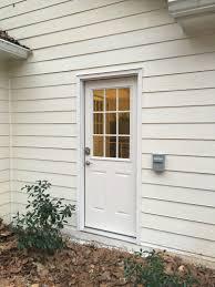 Opening New Doors Installing An Exterior Door Blood Sweat And - Exterior access door