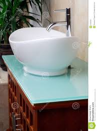 Bathroom Lavatory Sink Modern Bathroom Vanity Sink Stock Photo Image 2796230
