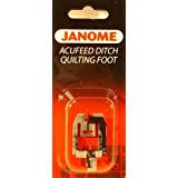 Amazon.com: Janome Ditch Quilting Foot Foot By The Each & Janome AcuFeed Ditch Quilting Foot Adamdwight.com