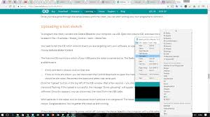 can t example sketches for arduino robot and when i can they following the official quick start guide to the letter and it won t work i try and load up the robot examples and they aren t even on the examples list