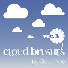 Cloud Photoshop Brushes Cloud Brushes Ver 3 Shape Photoshop Brushes Brushlovers Com