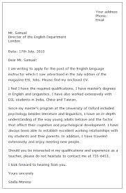 Cover Letter For College Job   Resume Templates Download Leave Letter Leave Letter Format
