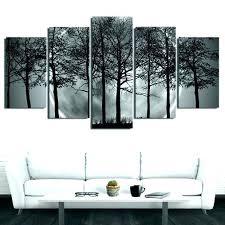 black and grey wall art white canvas bloom yellow uk geometric