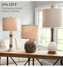 25 off gathering place inspired lamps