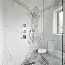 calcutta quartz shower walls design ideas