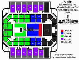 42 Correct James Brown Arena Augusta Ga Seating Chart
