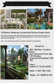 Exterior Rendering Model Decoration Cool Ideas