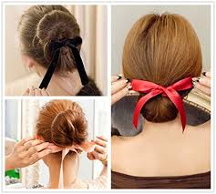 French Hairstyles 25 Best 24Pcs Black Red Pink Ribbon Magic French Twist Bun Maker Holder Roll