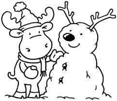 Printable Winter Coloring Pages Winter Coloring Pages Of