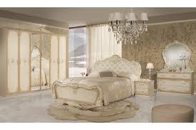 Barock Schlafzimmer Lavinia In Beige 6 Teilig Interdesign24de