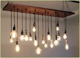 classy of hanging bulb chandelier edison regarding with bulbs inspirations 3