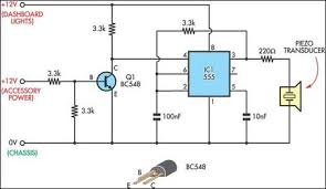 headlight reminder circuit diagram
