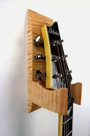tiger maple wall mounted guitar hanger