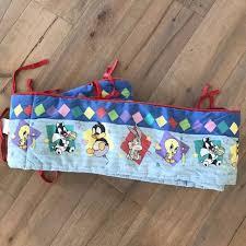 baby looney tunes nursery crib bedding per pad bugs bunny diamond blue colors