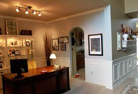 office wainscoting ideas. turned dining room into officeused fake wainscoting trim molding office ideas a