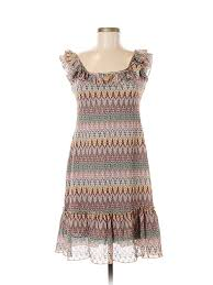 Details About Sundance Women Brown Casual Dress 6 Petite