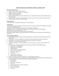 Kitchen Staff Job Description For Resume Pleasing Dining Room Supervisor Job Description S24 Manager 4