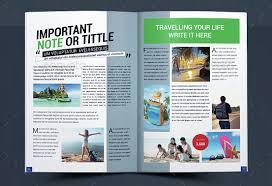 10 Creative Travel Magazine Templates For Tourism _
