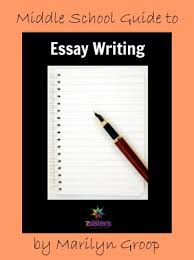 middle school essay writing help for your homeschool  middle school essay writing
