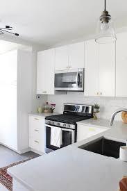 modern white kitchens ikea. Modern-White-Kitchen-Renovation-Ikea-Sektion-32.jpg Modern White Kitchens Ikea