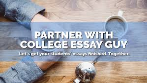 counselor resources college essay guy get inspired more acirc