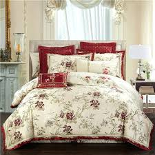 bedding sets queen gold blue oriental jacquard luxury royal king size 4 6 hot pink