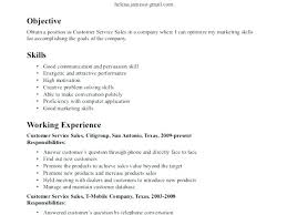 Samples Of Good Resumes Good Objectives In Resume Objectives In