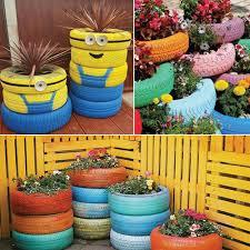 garden decorations ideas. 7 Unique Gardening Decor Ideas With Recycled Items Garden Decorations