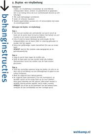 Behanginstructies Inhoudsopgave Pdf