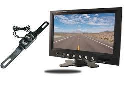 inch tft color lcd car rear view camera monitor support rotating 7 inch tft color lcd car rear view camera monitor support rotating the screen and 2 av inputs