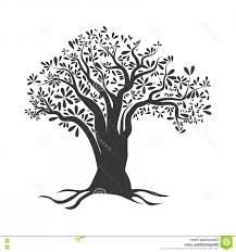 Stock Illustration Olive Tree Icon Organic Healthy Food Design