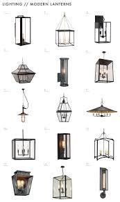 lighting options. Emily Henderson Mountain Fixer Upper Lighting Options Traditional Modern Lanterns 1