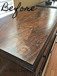 how to refurbish wood furniture without