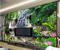 3d name wallpapers Waterfall landscapes ...