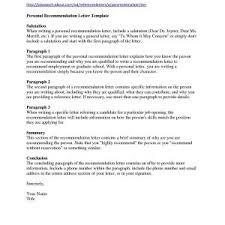 Recommendation Letter Template Immigration New Unique Form For