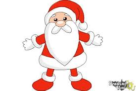 cute santa claus drawing. Exellent Drawing How To Draw Cute Santa Claus  Step 10 In Drawing O