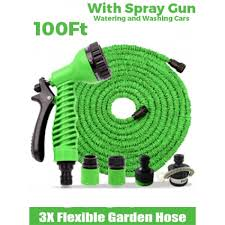expandable garden hoses. Magic Hose Expandable Garden (100 Ft.) Hoses