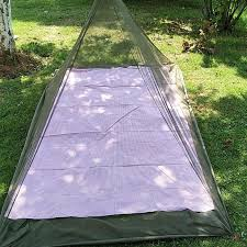 details about outdoor mosquito net camp pyramid backng yard screen tent netting garden