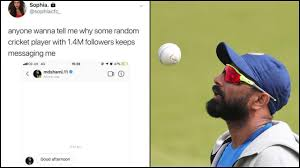 Twitter Divided As Woman Calls Out Mohammed Shami For Messaging Her