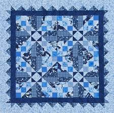 Quilting Color Trend: Blue | AllPeopleQuilt.com & Out of the Blue Adamdwight.com
