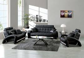 Living Room With Leather Sofa Contemporary Leather Living Room Furniture Living Room Design