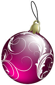 Beautiful Pink Christmas Ball PNG Clipart - Best WEB Clipart